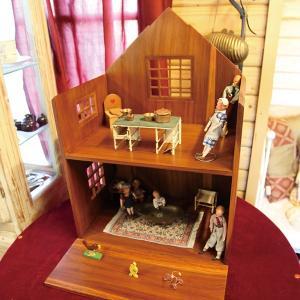 ドールハウス 木製 ウッド 木 人形小屋 家 人形遊び ドール ハウス|usagi-shop