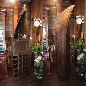 ワインラック ワイン収納 ワイン棚 ワインチェスト ワインセラー 大型 チェスト アンティーク 木製|usagi-shop