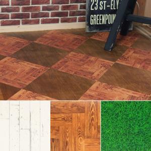 床 シール DIY リメイク リフォーム フローリング 内装 リビング ダイニング 玄関 床材 貼ってはがせる 装飾 MT casa カモイ|usagi-shop