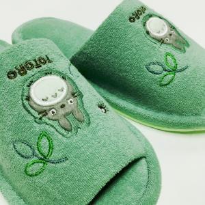 スリッパ トトロ ジブリ かわいい 緑 グリーン おしゃれ|usagi-shop