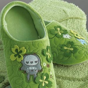 スリッパ トトロ かわいい 緑 グリーン おしゃれ トイレ 玄関 ジブリ|usagi-shop