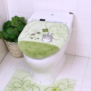 トイレふたカバー トトロ 蓋カバー 吸着 おしゃれ|usagi-shop
