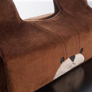 ティッシュボックスカバー かわいい クマ おしゃれ くまのがっこう ジャッキー|usagi-shop