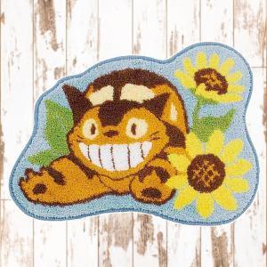 マット ネコバス おしゃれ ジブリ 玄関マット リビング トイレ バスマット キャラクター usagi-shop