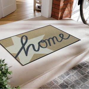玄関マット おしゃれ 室内 屋外 ラバー 北欧 洗える 高級感 星|usagi-shop