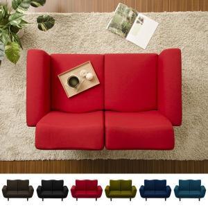 2人掛けソファ 脚付き 一人暮らし カウチ おしゃれ 二人用 ソファー リクライニング|usagi-shop