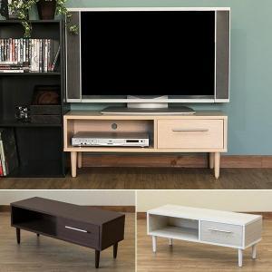 テレビ台 北欧 コンパクト TV台 テレビボード TVボード ローボード 小さい かわいい 引出し付き 90cm幅 シンプル AVラック 収納スペース|usagi-shop