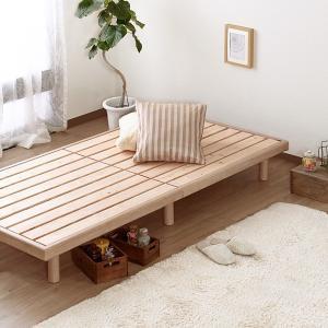 すのこ シングル すのこベッド 100cm ベッドフレーム 国産 天然木 スノコベッド ひのき 桧 檜 木製 北欧 フレームのみ