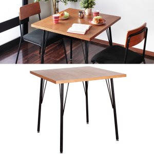 カフェテーブル 正方形 おしゃれ レトロ ヴィンテージ風 北欧|usagi-shop