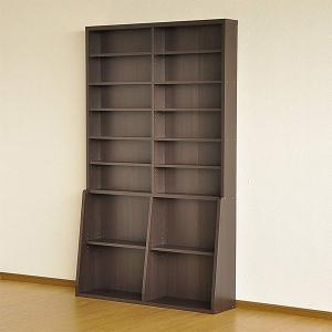 ブックシェルフ 本棚 幅120cm 大型 ワイド オープンラック 収納家具|usagi-shop