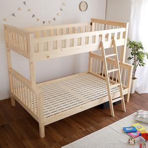 二段ベッド 子供用 2段 木製 シングル セミダブル おしゃれ 北欧|usagi-shop