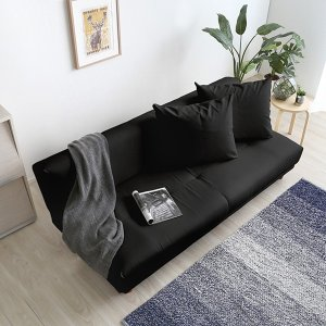 ソファーベット セミダブル 2人掛け 3人掛け 合皮 シンプル|usagi-shop