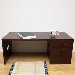 折りたたみ文机 折り畳み 収納付きデスク|usagi-shop