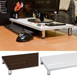 モニター台 パソコン モニタースタンド 卓上 パソコンスタンド 低い 薄い PCスタンド シンプル usagi-shop