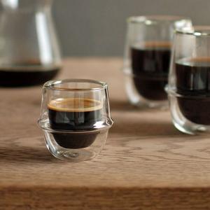 エスプレッソカップ 耐熱 ガラス エスプレッソコップ エスプレッソ用 コップ 小さい おしゃれ 透明 かっこいい|usagi-shop