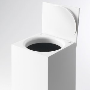 トイレ用ごみ箱 コーナーポット トイレポット ゴミ箱 usagi-shop
