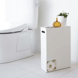 トイレットペーパーストッカー トイレットペーパーホルダー おしゃれ 12ロール 収納 トイレ収納 山崎実業|usagi-shop