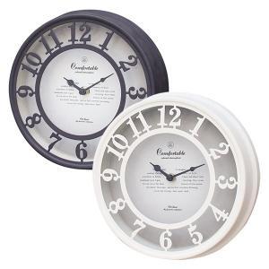 壁掛け時計 アンティーク調 ヨーロピアン 西洋風 おしゃれ 掛時計 ホワイト ブラック usagi-shop