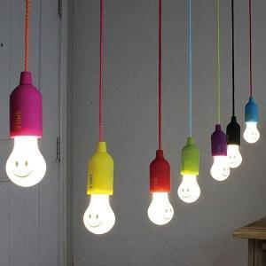 吊り下げ照明 ペンダント照明 子供部屋 こども部屋 LED ペンダントライト かわいい 天井 電池式 おしゃれ|usagi-shop
