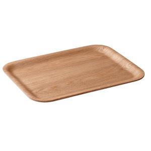 トレー お盆 トレイ 滑らない ノンスリップ加工 木製 天然木 木目 ナチュラル シンプル 板|usagi-shop