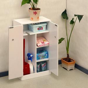 サニタリーボックス サニタリー収納 サニタリーチェスト 扉つき トイレ 収納棚|usagi-shop