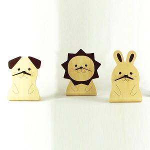 置き時計 おしゃれ 置時計 動物 子供部屋 犬 ライオン うさぎ かわいい 日本製 アナログ usagi-shop
