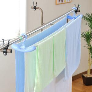 伸縮ハンガー 洗濯物干し 布団 シーツ バスタオル ハンガー|usagi-shop