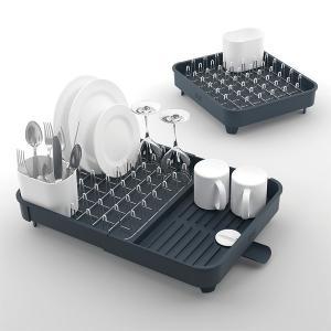 ディッシュラック 伸縮 水切り台 皿立て 水きり おしゃれ 使いやすい JosephJoseph ジョゼフジョゼフ|usagi-shop