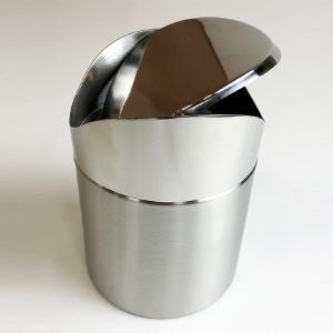 トイレ用ゴミ箱 トイレポット コーナーポット ステンレス 洗面所 ランドリーポット ごみ箱 おしゃれ かっこいい usagi-shop