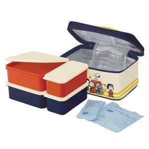ピクニックランチボックス お弁当箱 スヌーピー 保冷バッグ付|usagi-shop