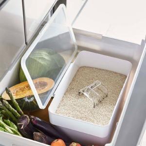 米びつ 冷蔵庫 5kg おしゃれ 5キロ 山崎実業|usagi-shop