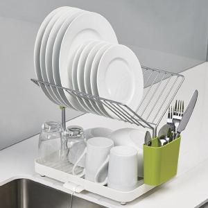 水きり台 水切りラック 水切りトレー コンパクト おしゃれ 皿立て ジョセフジョセフ|usagi-shop