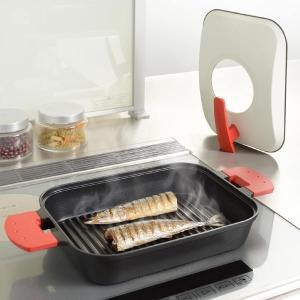 魚焼きグリル 魚焼き器 グリルパン 蓋付き 蒸す 焼く 日本製 usagi-shop