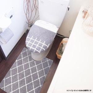 トイレマット ロングサイズ ベニワレン風 モロッコ調 おしゃれ|usagi-shop