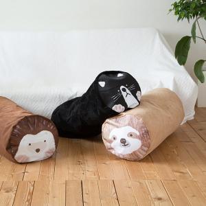 布団収納袋 ダブル掛け布団用 おしゃれ ハリネズミ 猫 動物 クッション インテリア usagi-shop