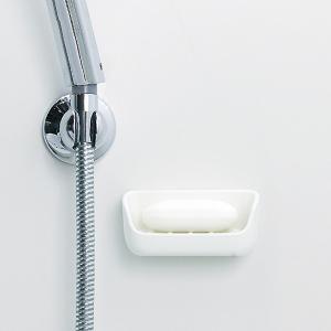 石鹸置き 石けん置き 浴室用 お風呂場 ソープトレー トレイ ソープディッシュ 石けん皿 石鹸皿 磁石 マグネット 磁着 錆びない ラバーマグネット 日本製|usagi-shop