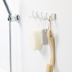 ウォールフック 磁石 マグネット 浴室用 お風呂場 ラック 壁掛け 収納 磁着 錆びない ラバーマグネット 日本製|usagi-shop