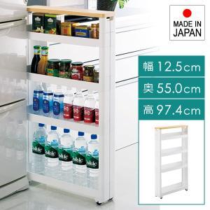 すき間収納 ラック 5段 隙間 ワゴン コロつき おしゃれ キッチン 洗面所 usagi-shop