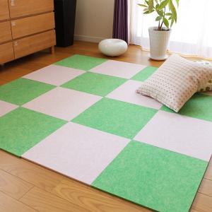 吸音マット 床 防音 カーペット マット 床材 ラグ パネル ジョイント 滑り止め|usagi-shop