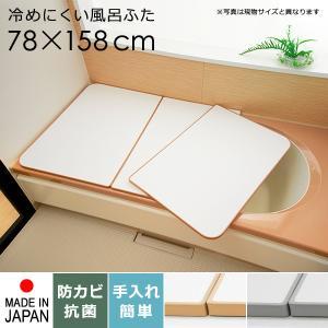 風呂ふた 80×160 大きいサイズ 保温 軽い 冷めにくい|usagi-shop