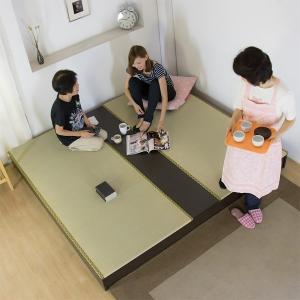 畳ベッド 収納 日本製 国産 大きいサイズ ワイド たたみ ...