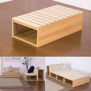 スノコボックス 組み合わせ ベッド 椅子 ベンチ サイドテーブル 1個 単品|usagi-shop
