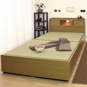 畳ベッド シングル 日本製 国産 収納 たたみ い草 ベット...