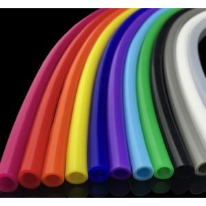シリコンチューブ カラー 青 内径4mm 外径6mm 長さ50cm単位