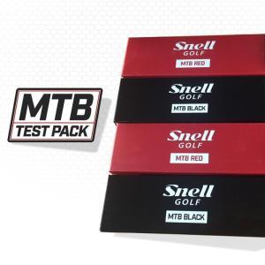 スネルゴルフジャパン直営ストア Snell Golf MTB RED & MTB BLACK テステ...