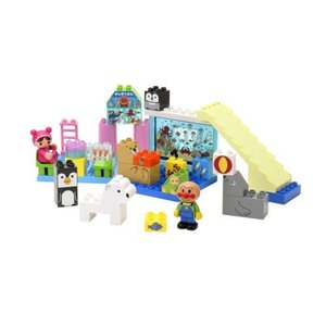 ブロックラボ アンパンマン キラキラこおりの水族館ブロックセット 925299バンダイ 知育玩具おもちゃ|usakids
