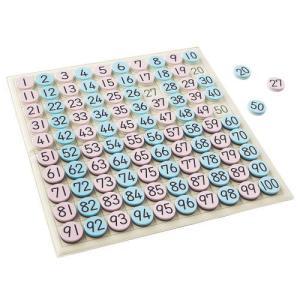 1から100までの磁石のコマを順に ならべていくことによって、数の順序 を身につけていきます。 コマ...