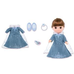 ドレス(エルサ)、くつ(エルサ)  「アナと雪の女王」の新しいドレスが登場! アナとエルサが着ていた...