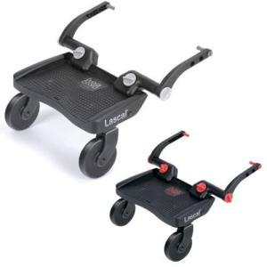 ベビーカーやバギーの後ろフレームに取り付けて、上のお子様を乗せて移動するための立脚ボードです。  移...