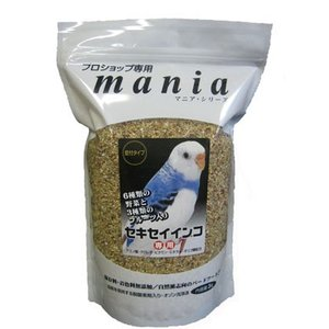 黒瀬ペットフード mania(マニア) セキセイインコ3L